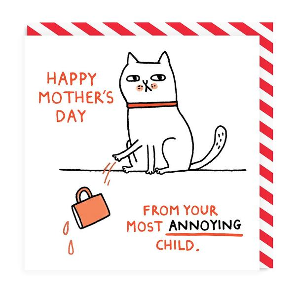 Your Most Annoying Child Mother's Day Card