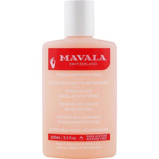 Mavala Extra Mild Nail Polish Remover, 100 ml Mavala Kynsilakanpoistoaineet
