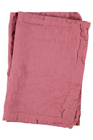 Bordbrikke Vasket Lin 2-pack - Rouge