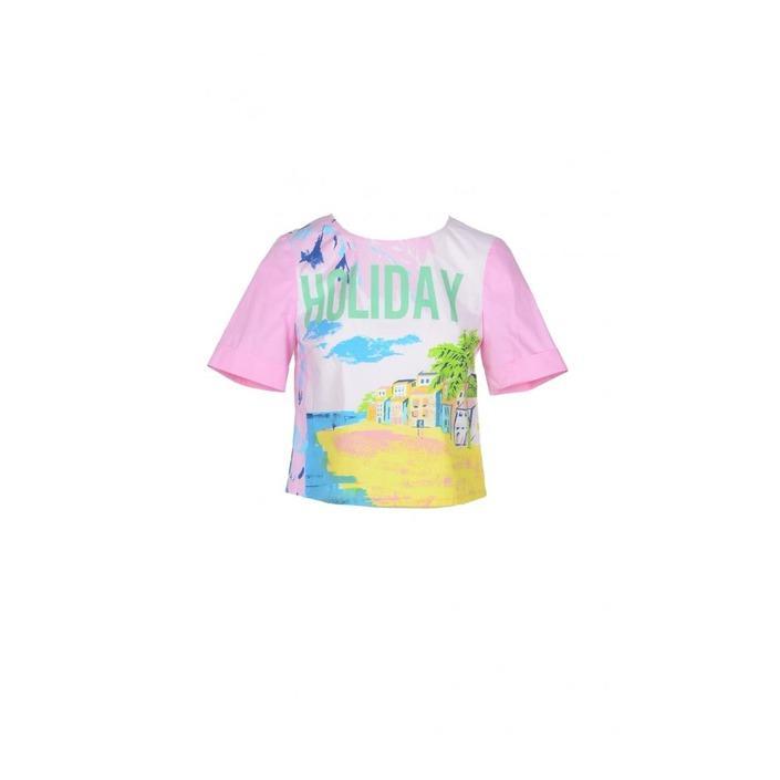 Boutique Moschino Women's Shirt Pink 171797 - pink 36