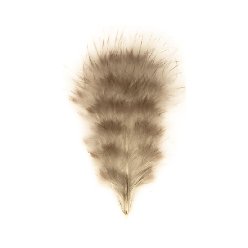 Grizzly Marabou - Natural