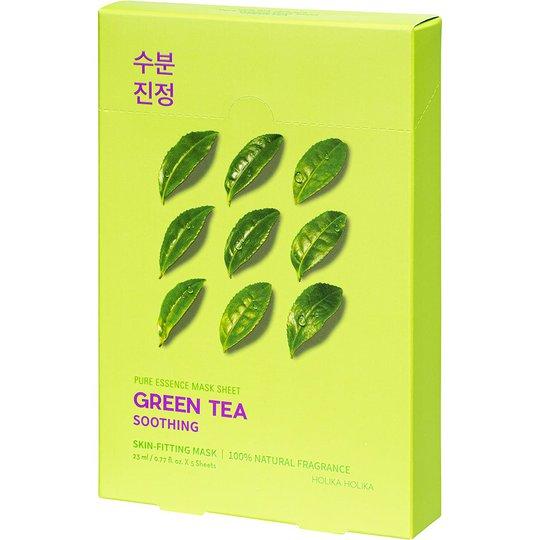 Pure Essence Mask Sheet Pack Green Tea, Holika Holika Kasvonaamio