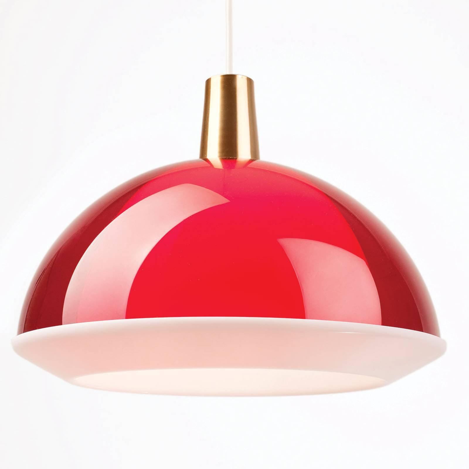 Innolux Kuplat 400 pendellampe, 40 cm, rød