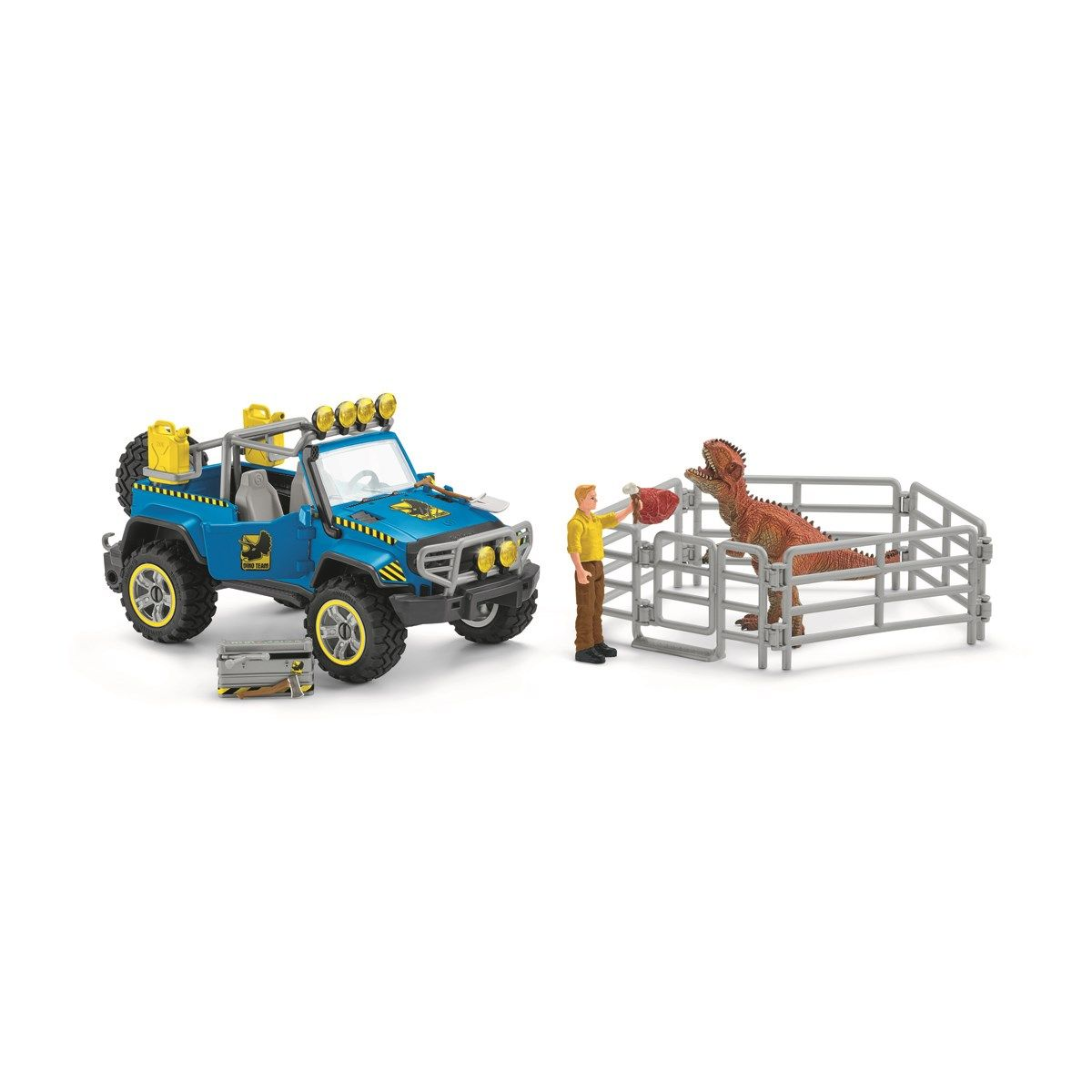 Schleich - Off-road vehicle with dino outpost (41464)