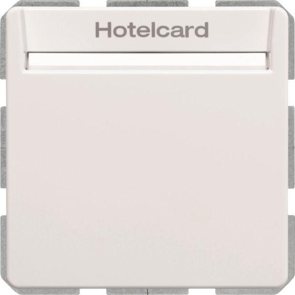 Hager 16406099 Hotellikorttikytkin Q.1 valkoinen
