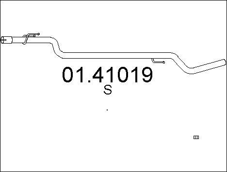 Pakoputki MTS 01.41019