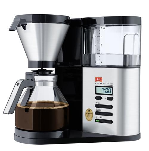 Melitta Aroma Elegance Deluxe Glass Kaffebryggare - Svart