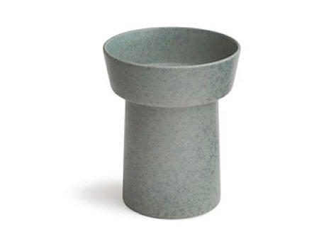 Ombria vase Granittgrå H 20 cm