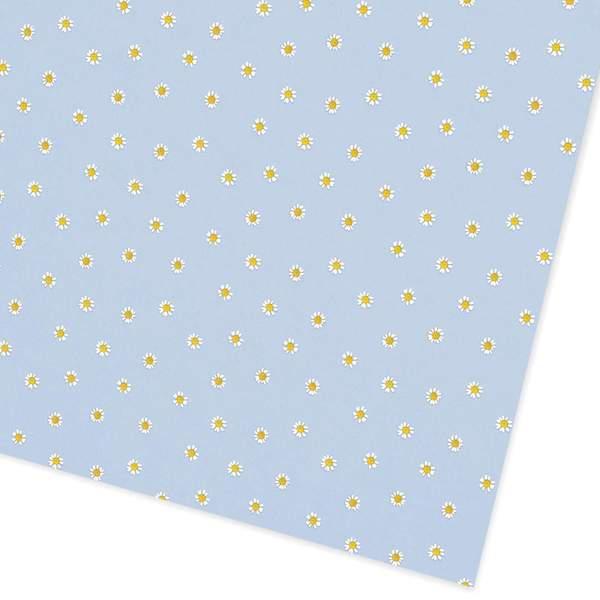 Blue Daisies Giftwrap