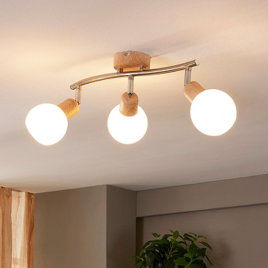 Vakker taklampe Svenka med E14-LED