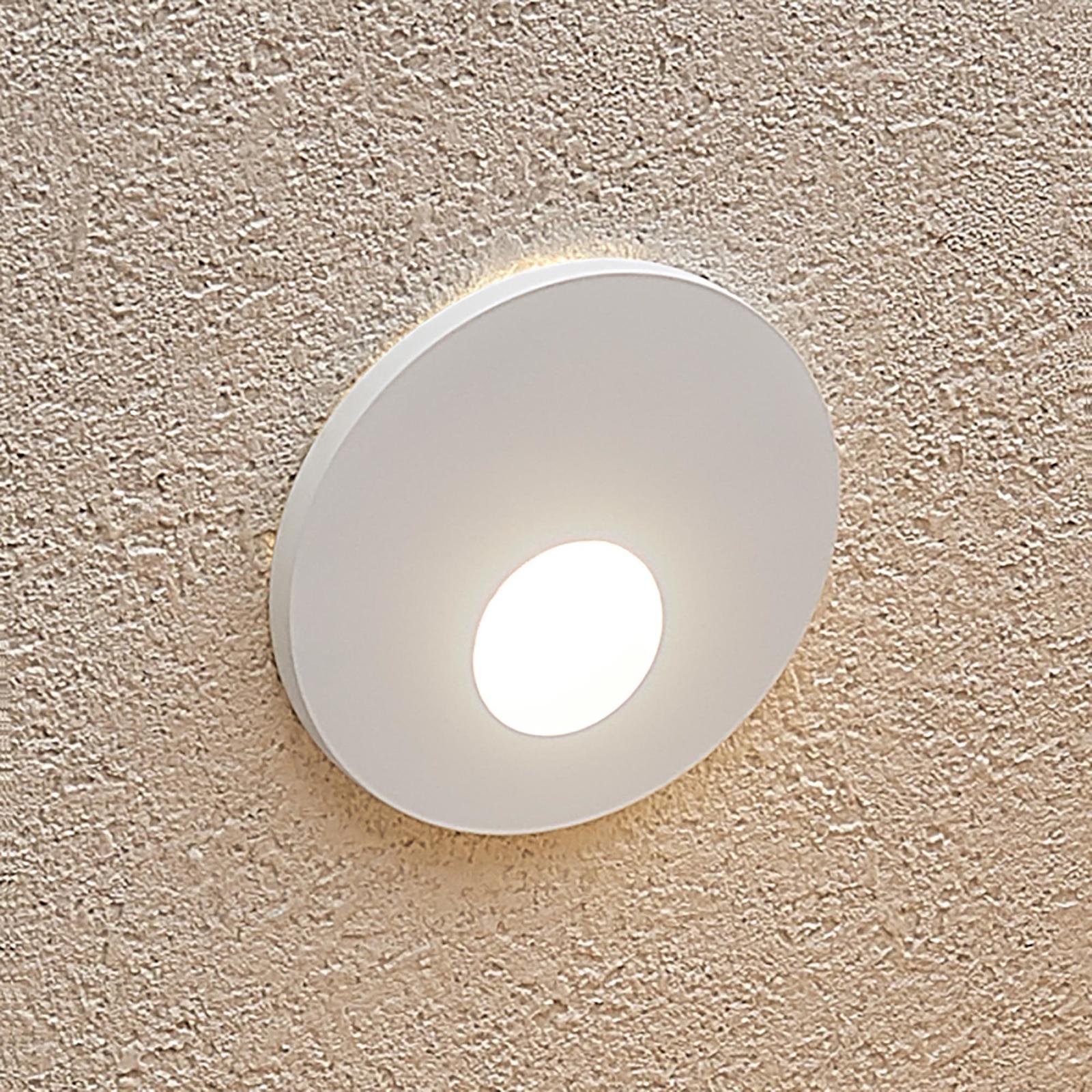 Arcchio Vexi -LED-uppovalaisin, pyöreä, valkoinen