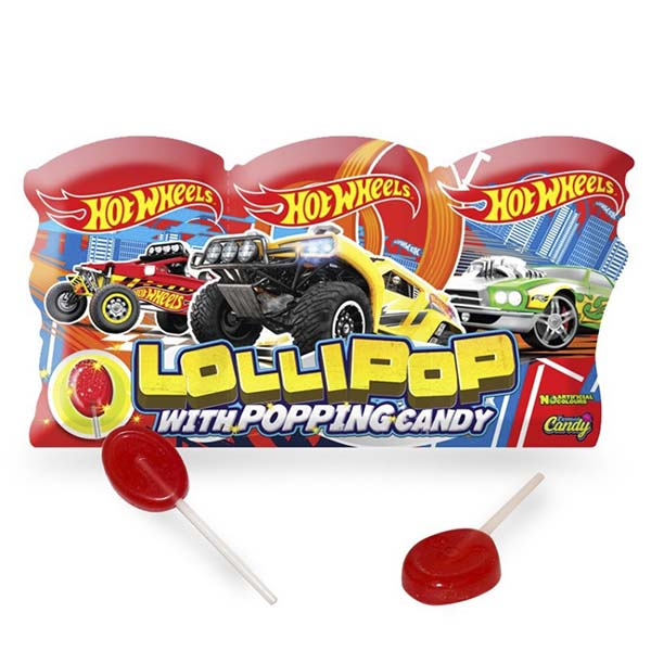 Hot Wheels Popping Candy 3-pack