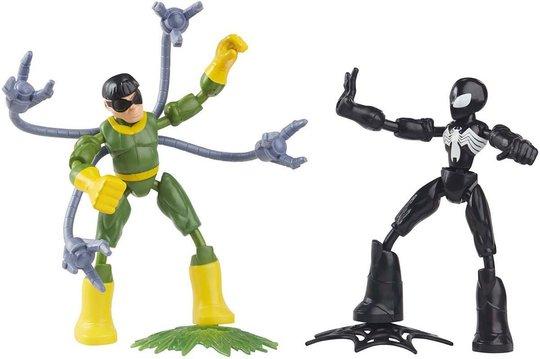 Marvel Spider-Man Bend And Flex Spider-Man Vs Doctor Octopus