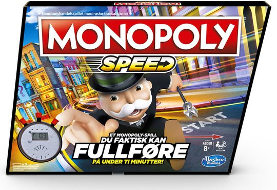 Hasbro Monopol Spill Speed