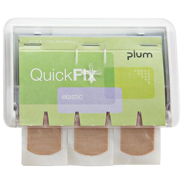 Plum QuickFix Uno Laastarittäyttö 45 kpl Läpinäkyvä