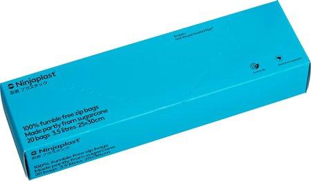 Zip-poser, fossilfrie 3,5L 20-pack