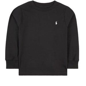 Ralph Lauren Logo Long Sleeve Tee Tröja Svart 2 år