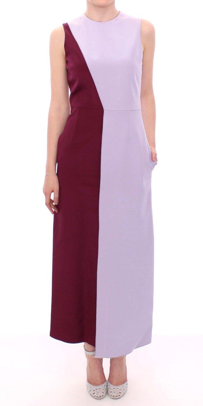 Barbara Casasola Women's Lavender Gown Silk Long Dress Purple MOM10073 - IT40|S