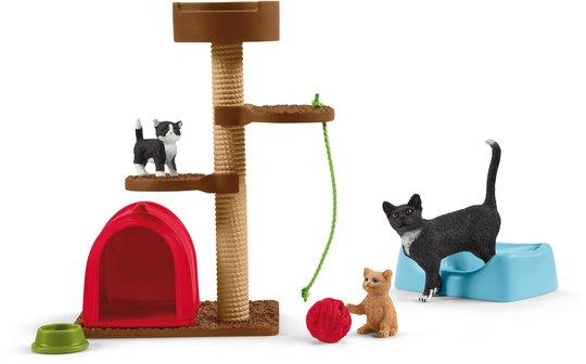 Schleich 42501 Katter Med Leker