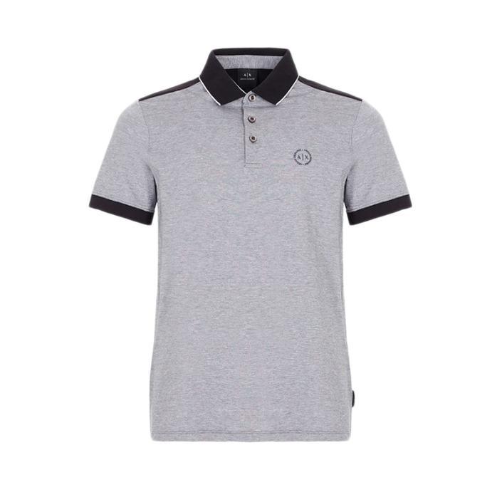 Armani Exchange Men's Polo Shirt Black 188037 - black XS