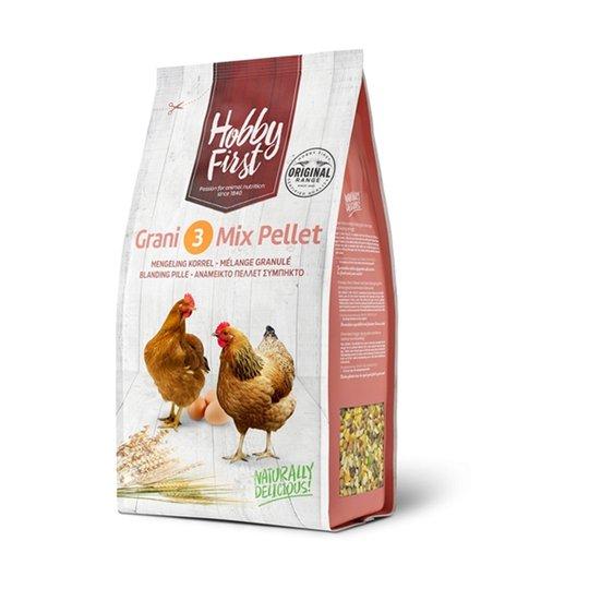 Hobby First Grani 3 Mix Pellet (4 kg)