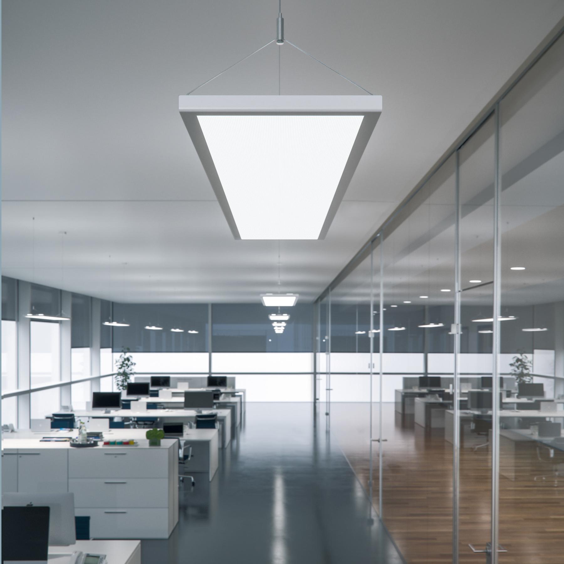 LED-riippuvalaisin IDOO toimistoon 49 W, valkoinen