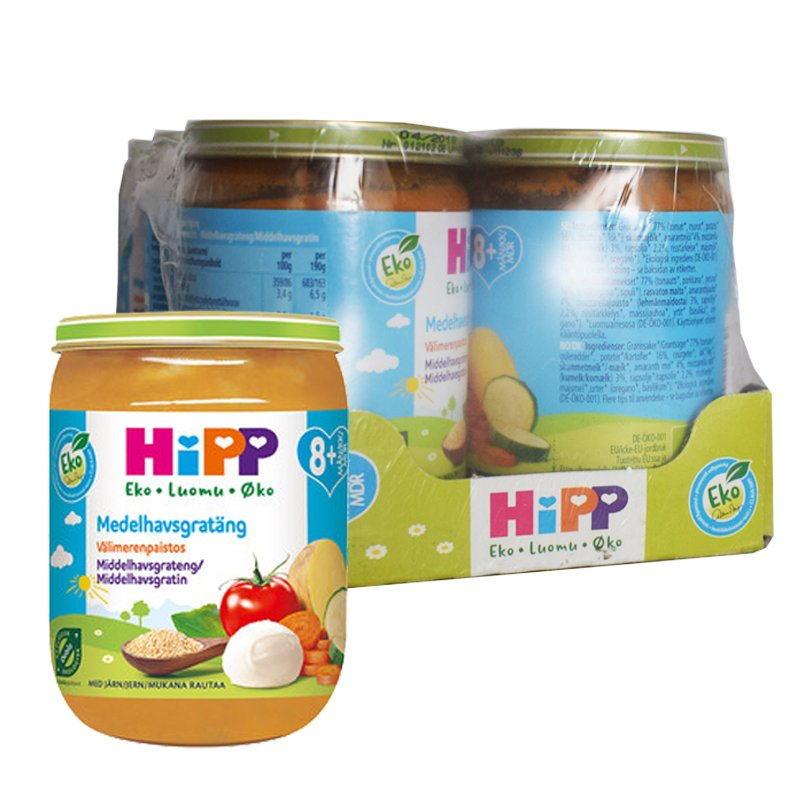 Luomu Lastenruokaa Välimerenpaistos 6kpl - 33% alennus