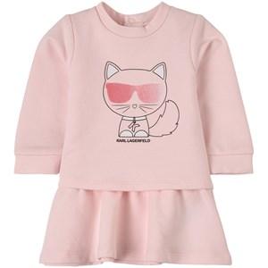 Karl Lagerfeld Kids Choupette Klänning Rosa 12 mån