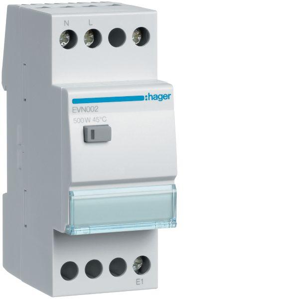 Hager EVN002 Himmennin 230V, 50-60 Hz, IP20 500 W, 35 mm