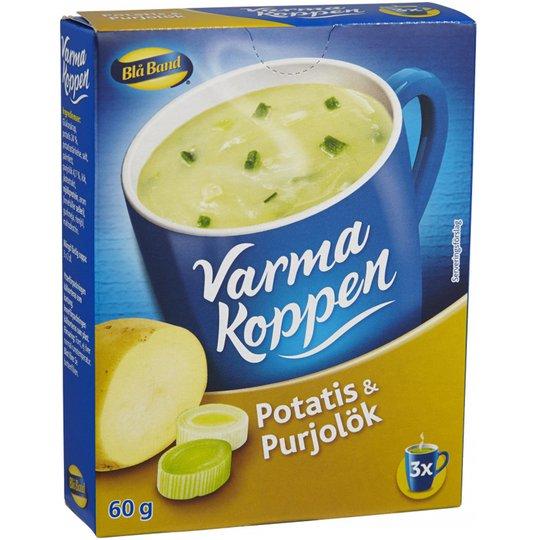 Varma Koppen Potatis- & Purjolökssoppa 60g - 53% rabatt