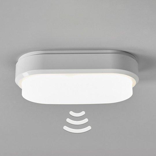 Bulkhead – ovaali LED-kattovalaisin tunnistimella