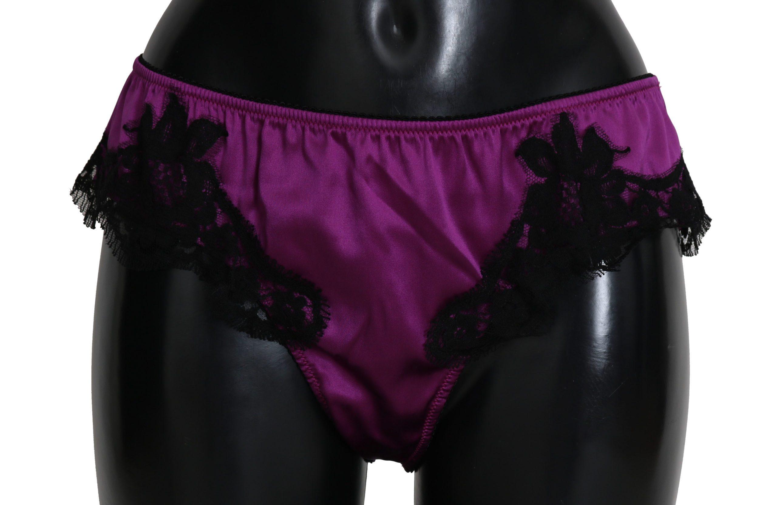 Dolce & Gabbana Women's Underwear Purple BIK241I - IT4   L