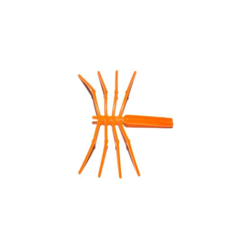 Easy Shrimp Legs Orange - Str. S 10stk