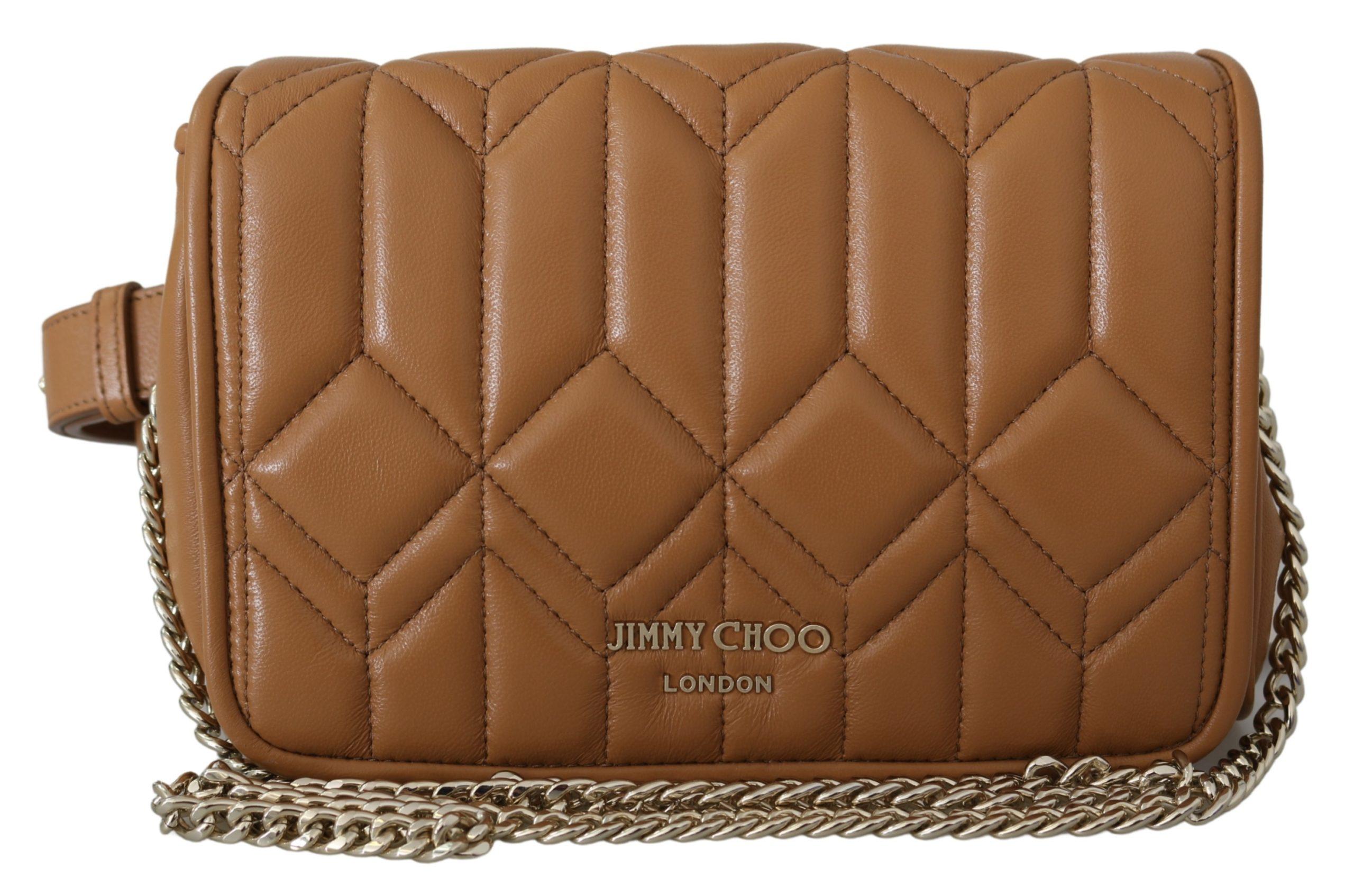 Jimmy Choo Women's Diondra Shoulder/Belt Bag Brown 1436136