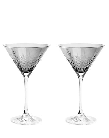 Dark Cocktailglas Glas 22 cl 2-pack