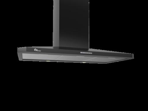 Thermex Decor 787 90cm Sort Vägghängd Köksfläkt - Svart