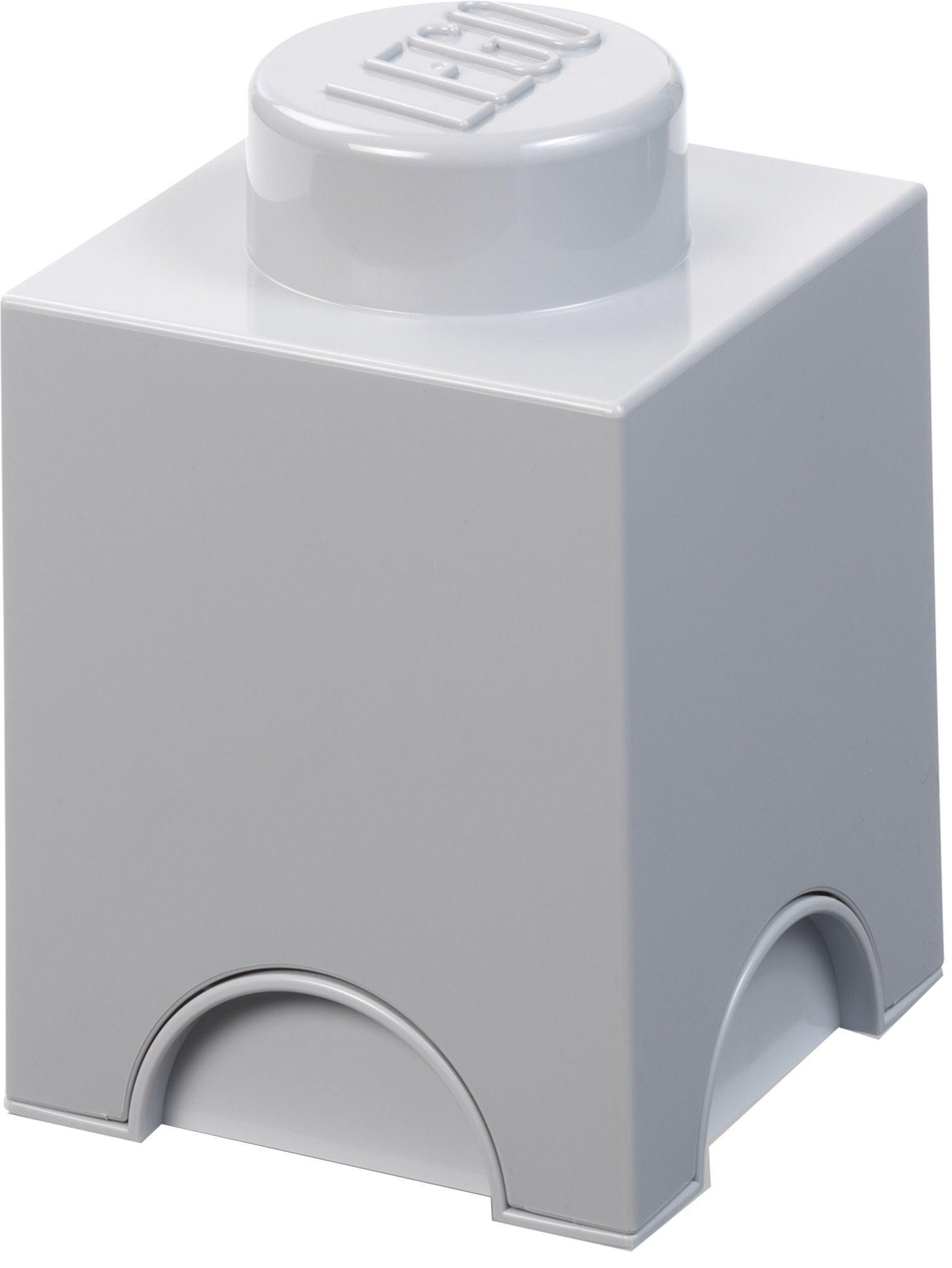 LEGO Säilytyslaatikko 1, Stone Grey