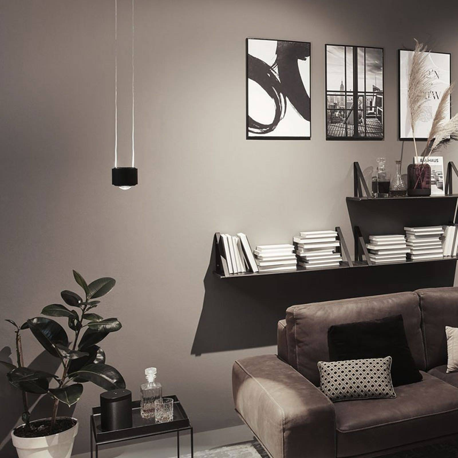 Paulmann URail Aldan -LED-riippuvalo, musta