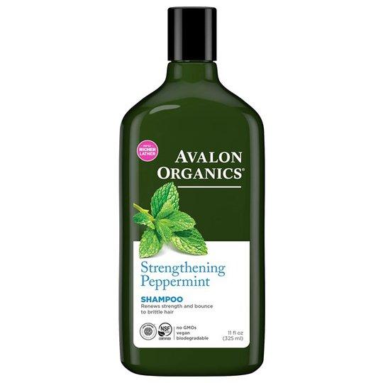 Avalon Organics Strengthening Peppermint Shampoo, 325 ml