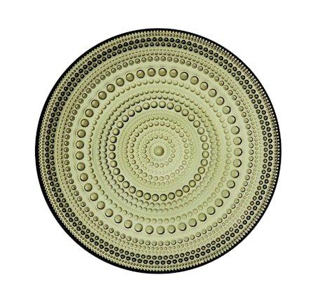 Kastehelmi tallerken 17 cm