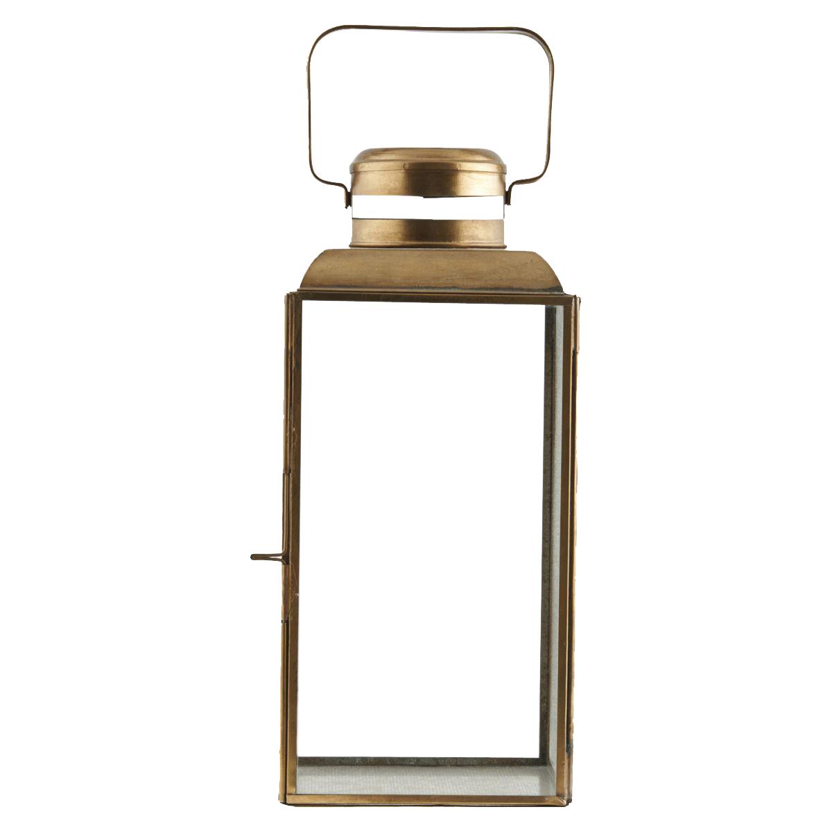 House Doctor - Vintage Lantern Medium - Brass (pm0361/203990361)