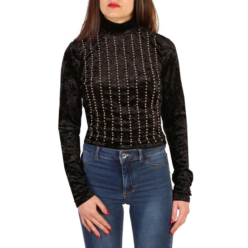 Guess Women's Sweater Black 82G604 - black 46 US