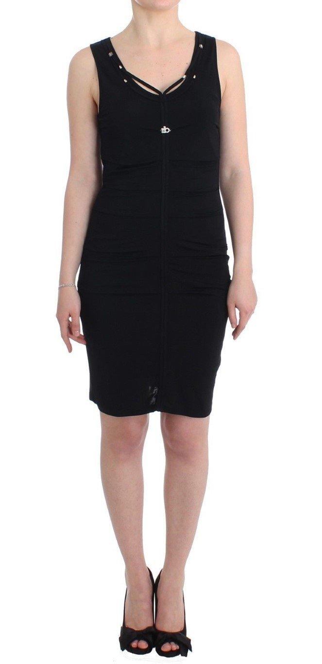 Roccobarocco Women's pencil sheath Dress Black SIG11586 - IT48|XXL