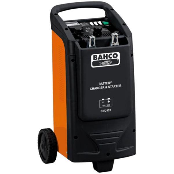 Bahco BBC420 Starthjelp med innebygd batterilader
