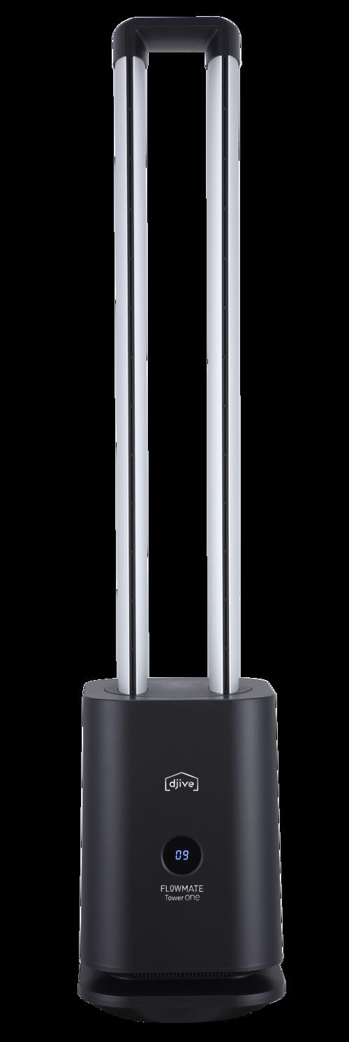 Djive Tower One Black Fläkt