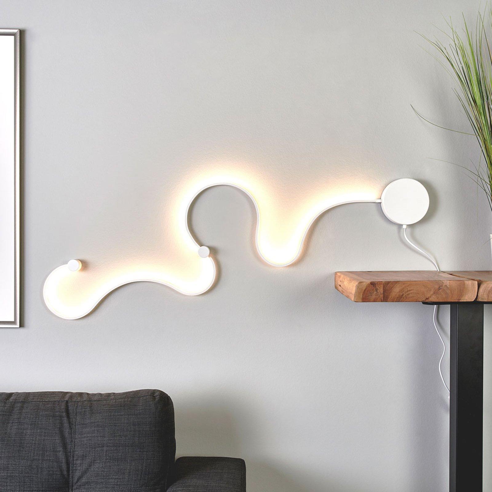 Sandor - LED-vegglampe med enestående lys