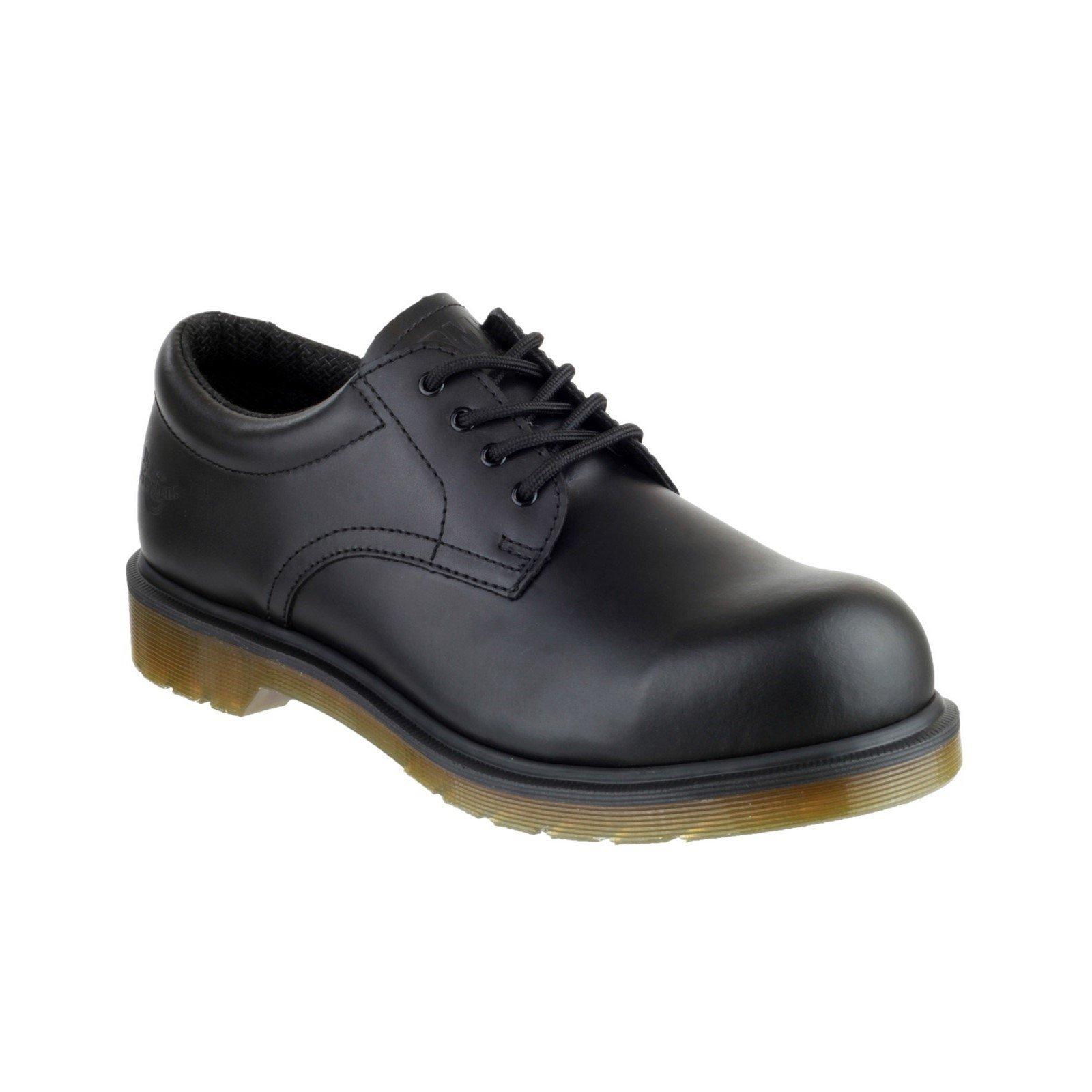 Dr Martens Unisex Icon Lace up Derby Shoe Black 00588 - Black 6