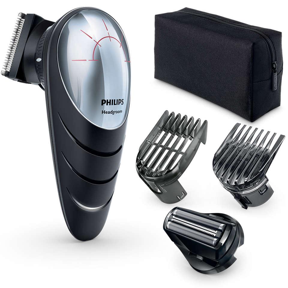 Philips - Headgroom Do-It-Yourself Clipper QC5580