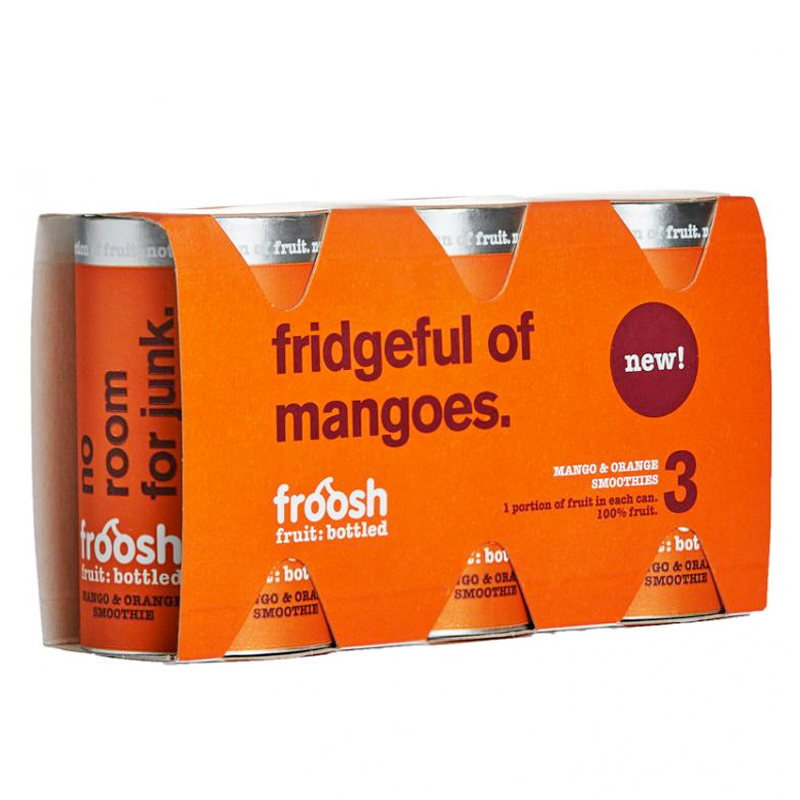 Smoothie, Mango & Appelsiini 3 x 150ml - 29% alennus