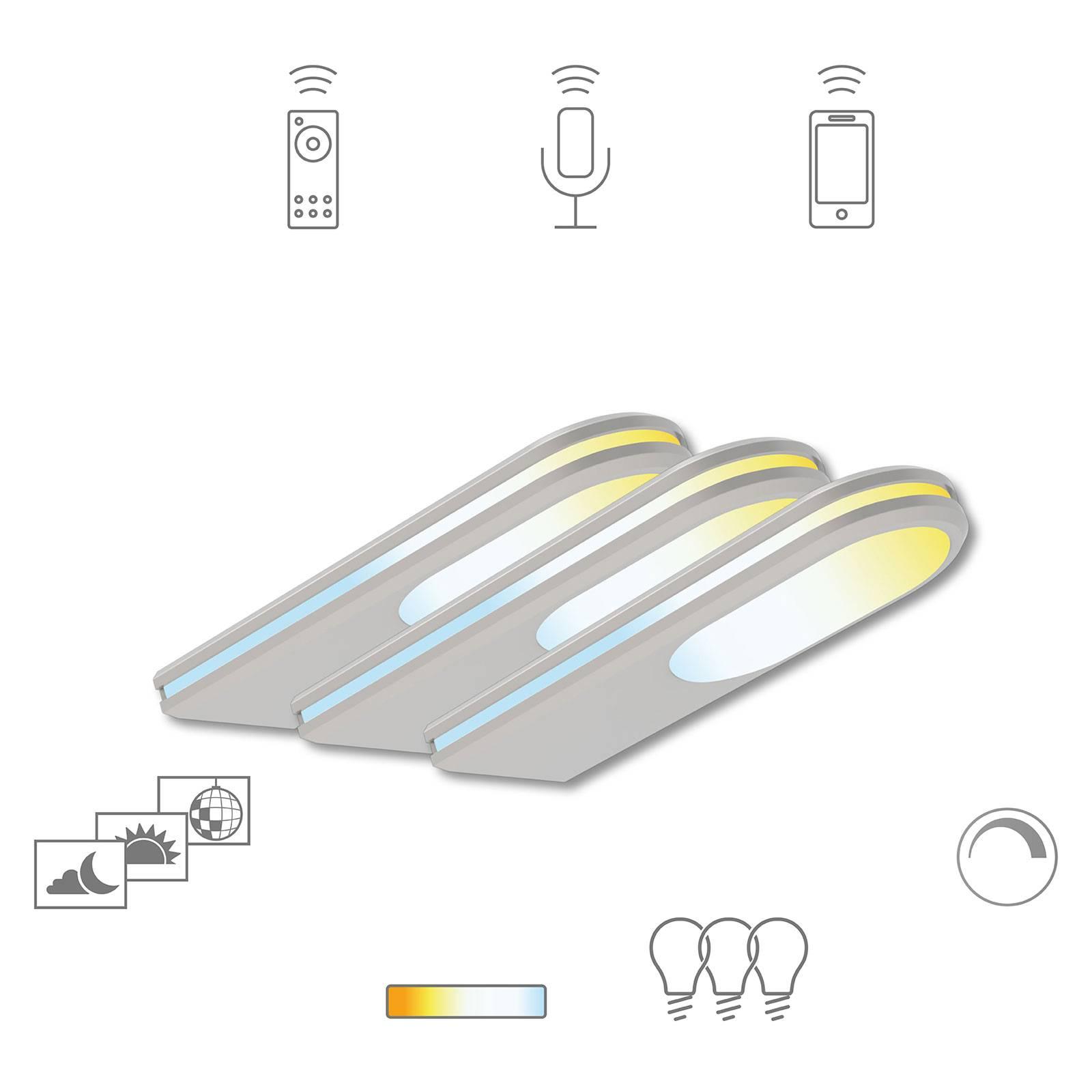 Müller Licht tint -LED-kaapinalusvalo Armaro 3 kpl
